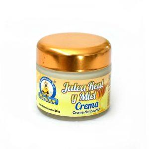 Crema con miel y jalea real