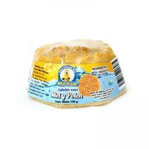 Jabón con miel y polen